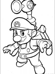 mario coloring pages koopa troopa
