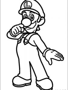 mario coloring pages online free