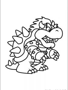 mario coloring pages pdf