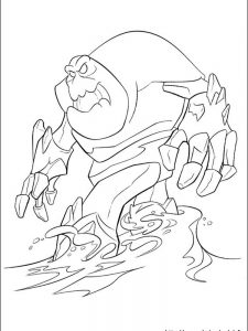marshmallow frozen coloring page