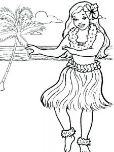 mexican hat dance coloring page