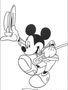 mickey mouse clubhouse coloring pages pdf