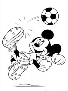 mickey mouse coloring book pages