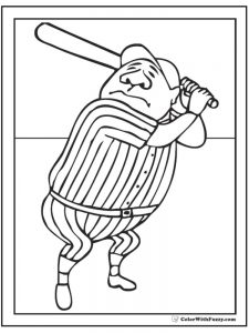 mlb baseball logo coloring pages