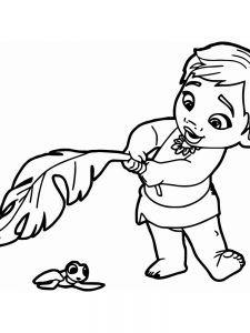 moana coloring pages online