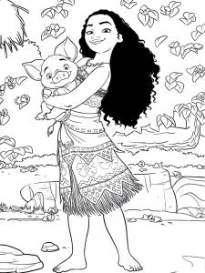 moana coloring pages pdf