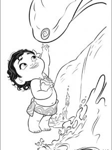 moana coloring pages to print