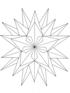 moon stars coloring pages printable