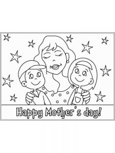 mothers day coloring pages in spanish