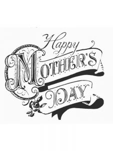mothers day coloring pages preschool