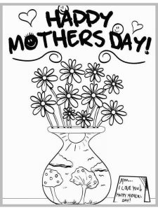 mothers day coloring pages religious