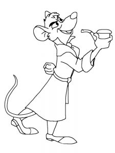 mouse coloring pages pdf free