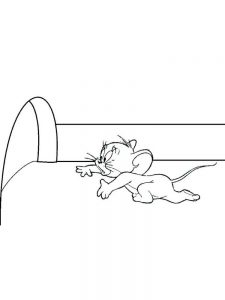 mouse coloring pages pdf image