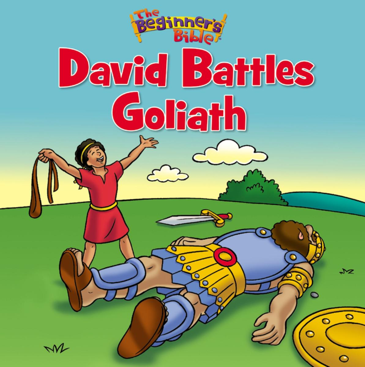 new david and goliath coloring pages