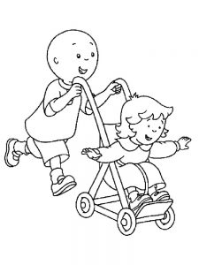 newborn baby coloring page