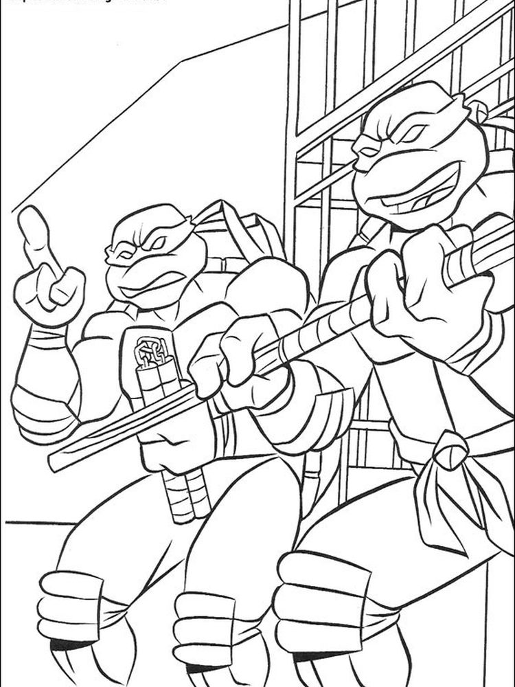 ninja turtles coloring pages games