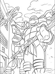 ninja turtles coloring pages leonardo
