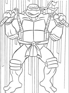 online coloring pages ninja turtles