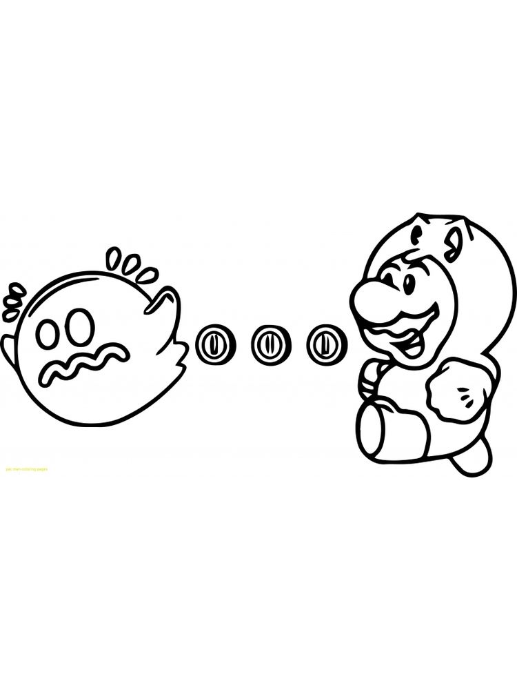pacman coloring pages 008
