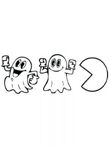 pacman coloring pages 009