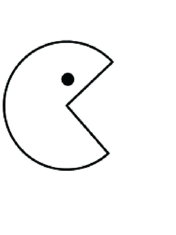 pacman coloring pages 014