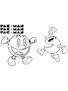 pacman coloring pages 022