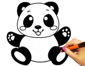 Printable Panda Coloring Pages For Kids