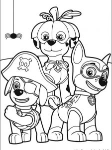 paw patrol coloring pages 1