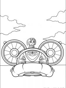 paw patrol coloring pages all pups 1