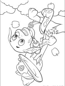 paw patrol coloring pages free printable 1