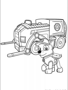 paw patrol coloring pages printable 1