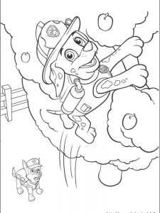 paw patrol coloring pages to print 1