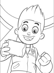 paw patrol coloring pages tracker 1