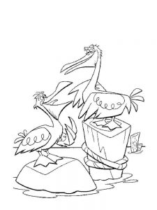 pelican coloring pages to pdf