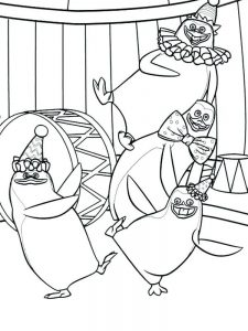 penguin coloring pages 038
