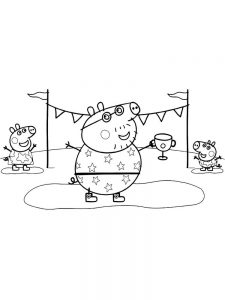 peppa pig coloring pages for toddlers