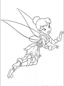 periwinkle tinkerbell coloring pages