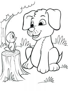 pets coloring pages to print