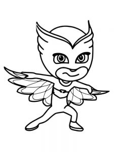 pj mask colouring pages printable