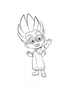 pj masks colouring pages online