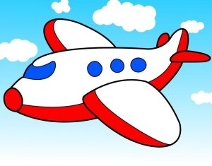 Free Printable Plane Coloring Pages