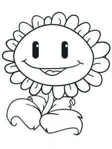 plant coloring pages free printable