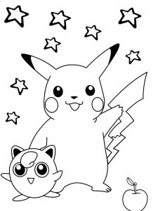 pokemon blank coloring page
