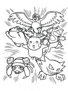 pokemon book coloring page