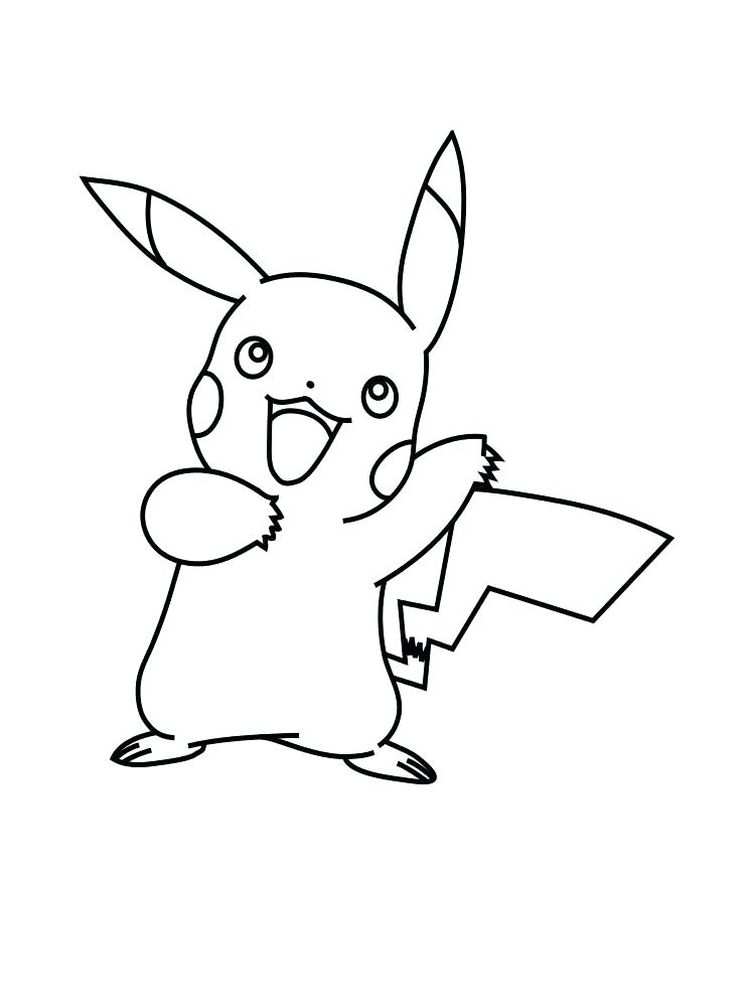 pokemon face coloring page