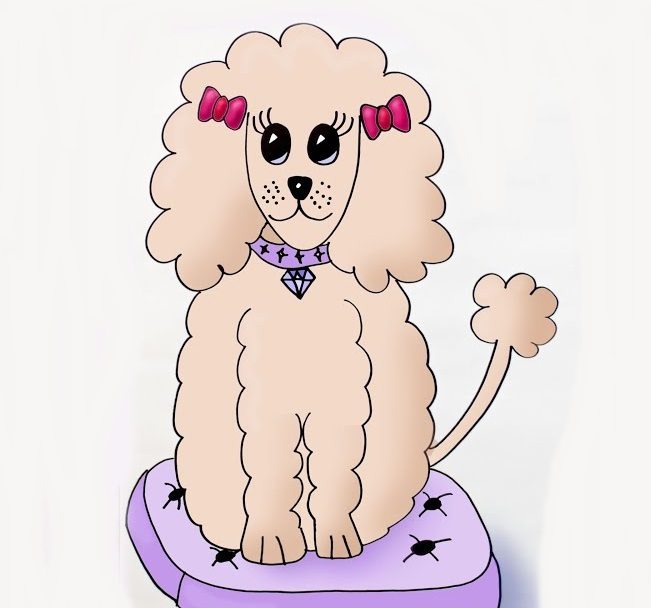 poodle coloring