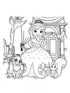 princess sofia coloring pages free pdf