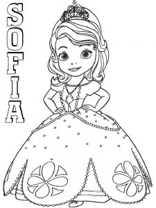 princess sofia coloring pages pdf