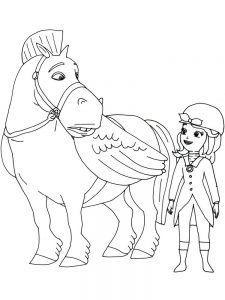 princess sofia coloring pages to print pdf