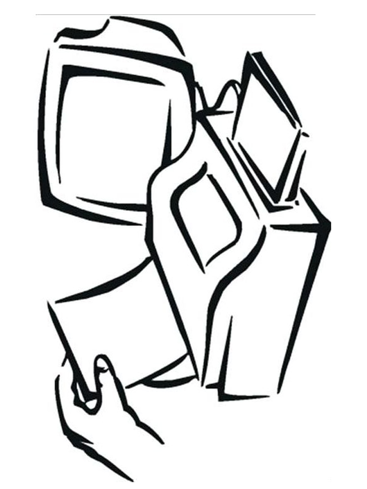 print computer coloring pages